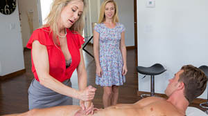 Moms Bang Teens with Brandi Love Love is in the bare