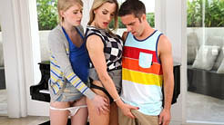Allie James and Tanya Tate Bang Camp Moms Bang Teens!