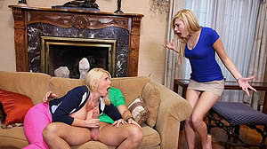 Karen Fisher and Molly Bennett Teen Teacher Moms Bang Teens!