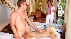 Moms Bang Teens with Syren Demer and Jessie Volt