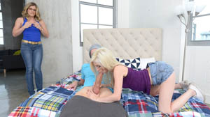 Moms Bang Teens with Piper Perri and Cory Chase Piping Piper